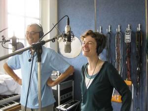 Anja Wrede singt mit Hajo Bücken